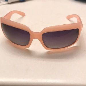 RARE Baby Pink VINTAGE Chanel 90's Shades